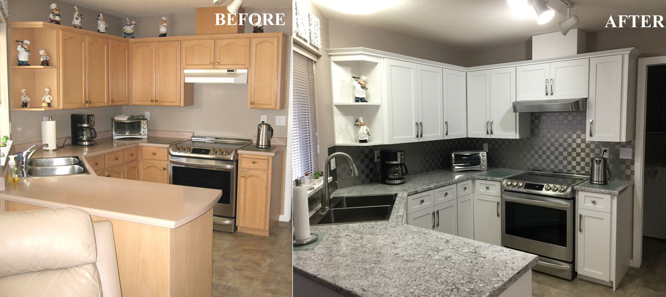 Swell Before After Kitchen Cabinet Refacing Gallery Download Free Architecture Designs Scobabritishbridgeorg