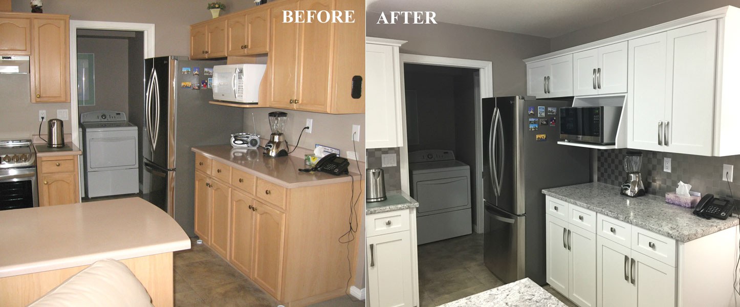 Phenomenal Before After Kitchen Cabinet Refacing Gallery Download Free Architecture Designs Scobabritishbridgeorg